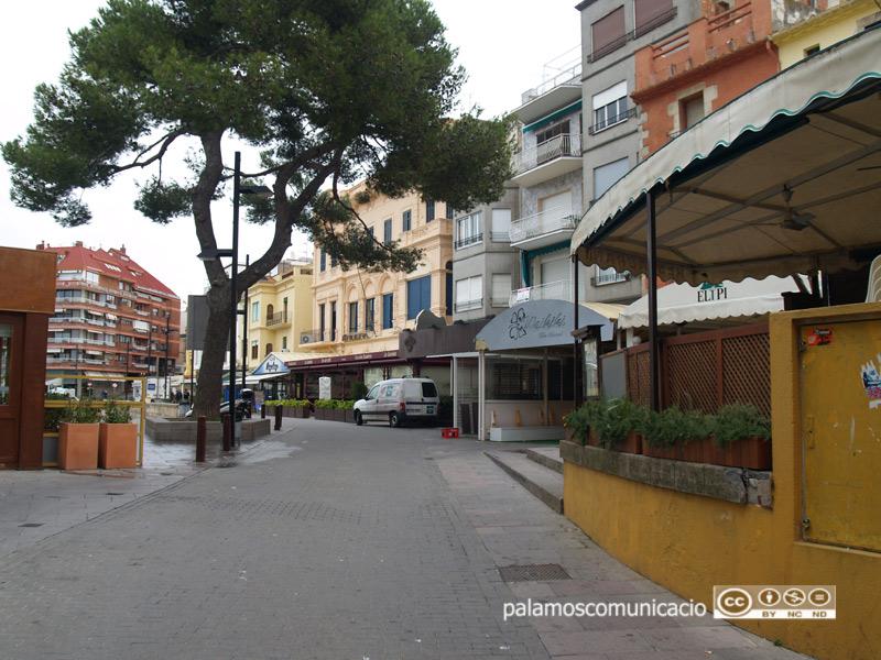 Terrasses d'establiments al sector de La Planassa.
