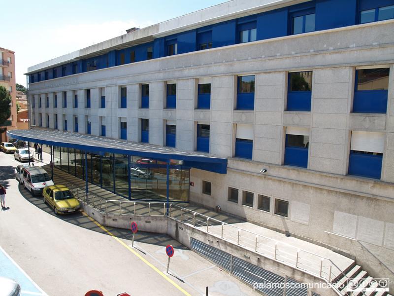 Entrada de l'hospital de Palamós.