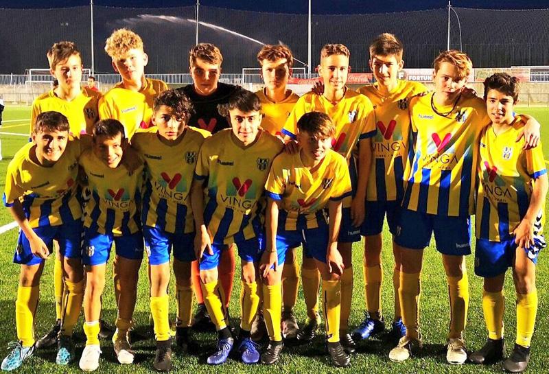 Infantil A de la Fundació Esportiva Palamós. (Foto: FE Palamós).