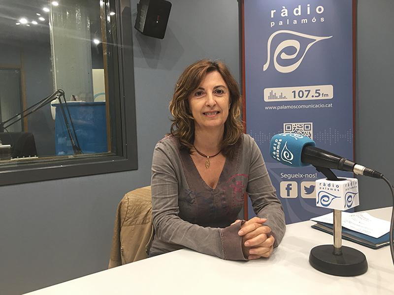 Núria Pérez és la psicóloga de l'Associació Catalana d'Afectats de Fibromiàlgia al Baix Empordà.