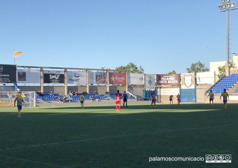 El Palamós va perdre la tercera plaça el passat 5 de maig, després de caure a casa davant el Vilassar.
