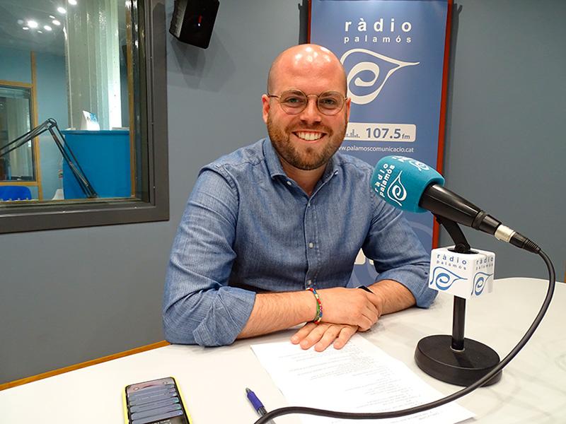 Raimon Trujillo, regidor electe de Junts per Catalunya, avui al 'Preguntes'.