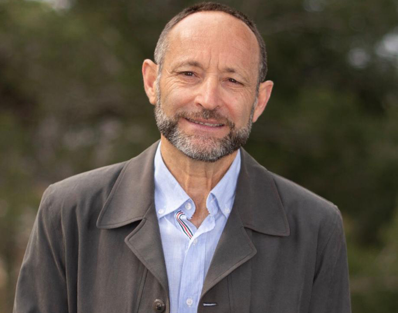 Isidre Verdún, en la fotografia promocional de la candidatura.