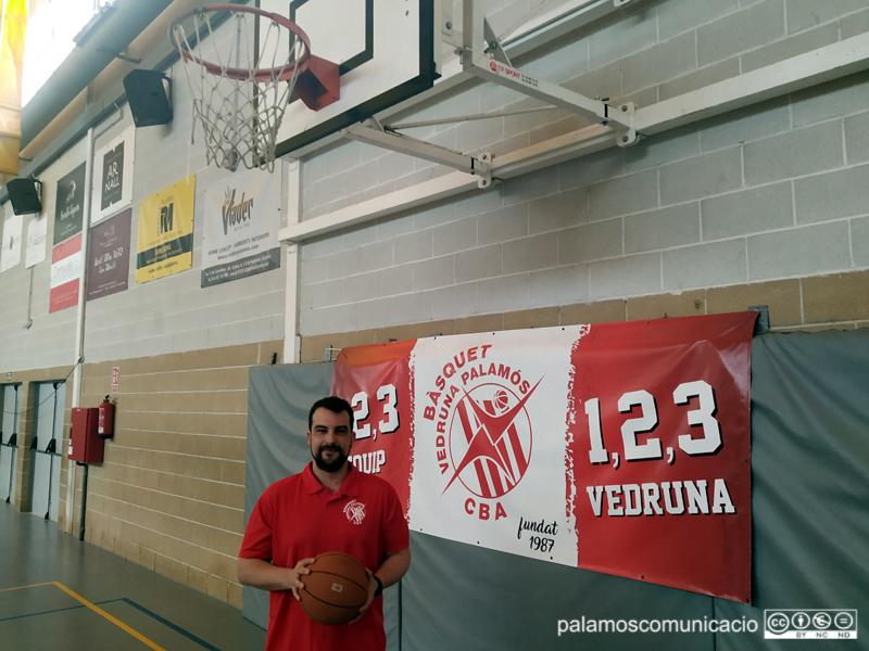 Jordi Acero, coordinador dels equips del Bàsquet Vedruna Palamós.