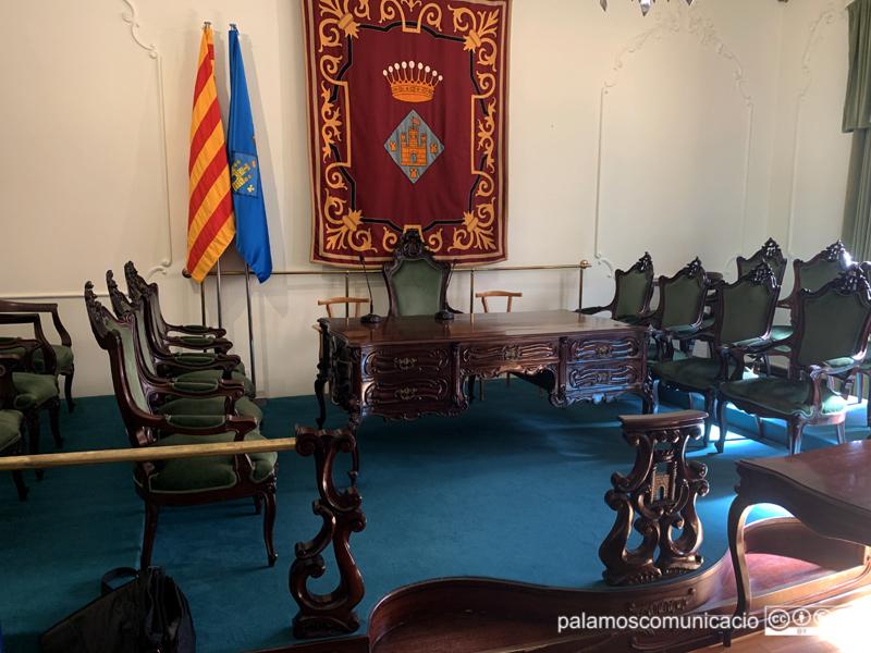 La Sala Noble de l'Ajuntament de Palamós acollirà demà la constitució del nou Ple.