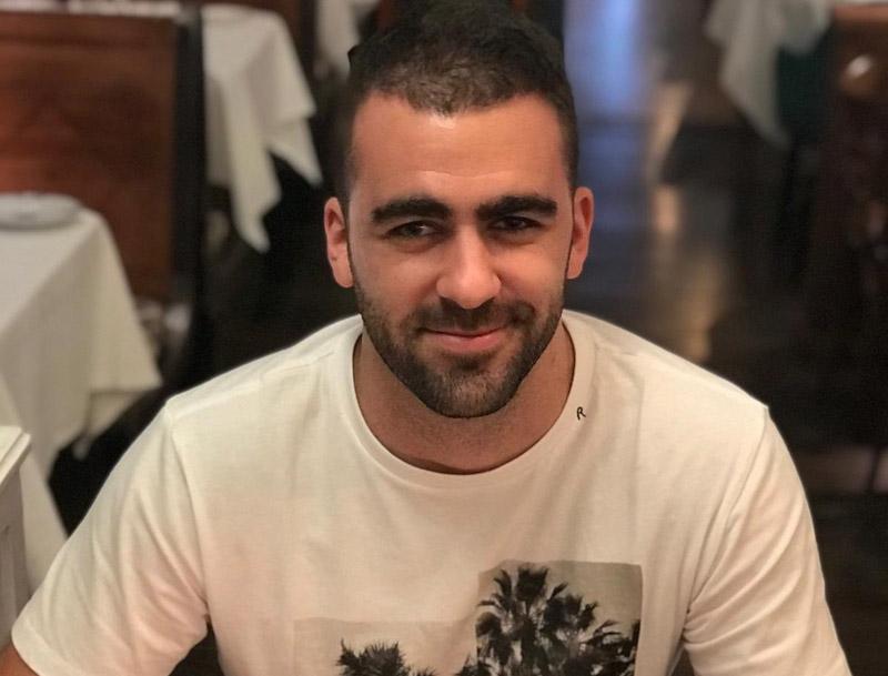 Lucas Palma, nou fitxatge del Palamós CF.