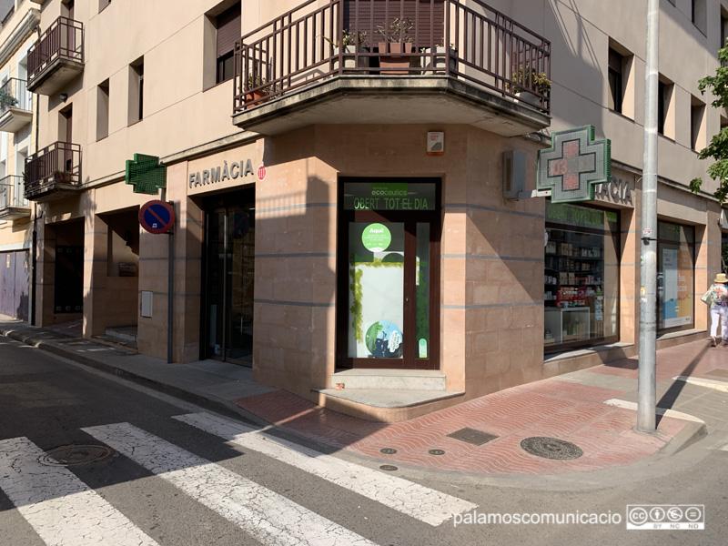 La farmàcia Pons Gascón de Palamós és una de les farmàcies adherides a la campanya.