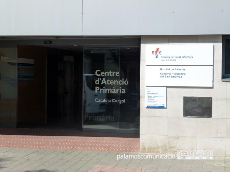 El Centre d'Atenció Primària de Palamós.