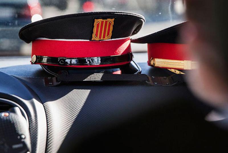 Els Mossos d'Esquadra van detenir el sospitós ahir a la tarda.