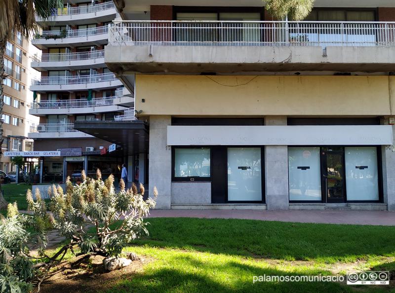 L'edifici Jaume II de Palamós, emplaçament on anirà la nova Oficina de Turisme.