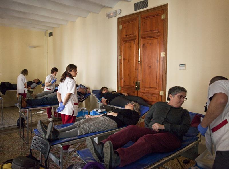 Sant Antoni acull dissabte  l'inici de la campanya de donació de sang a les comarques de Girona  (Foto: Ajuntament de Calonge i Sant Antoni).