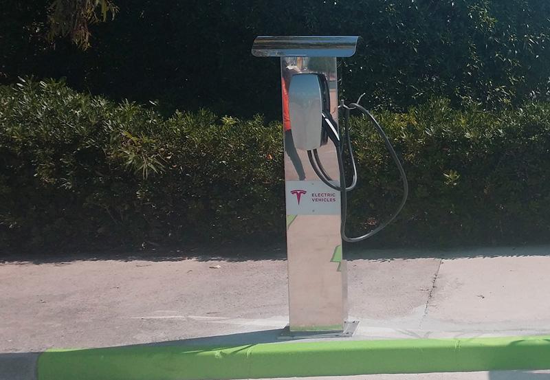 El port de Palamós disposarà d'un punt de recàrrega per a cotxes elèctrics. (Foto. Ports de la Generalitat).