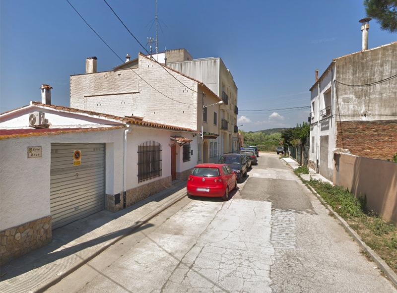 El carrer del Bruc de Palamós, un dels carrers on es farà aquesta actuació. (Foto: Google Maps)