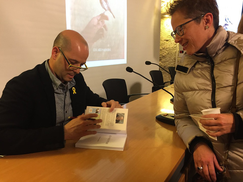 Eduard Sadurní presenta avui a Palamós el seu darrer llibre,
