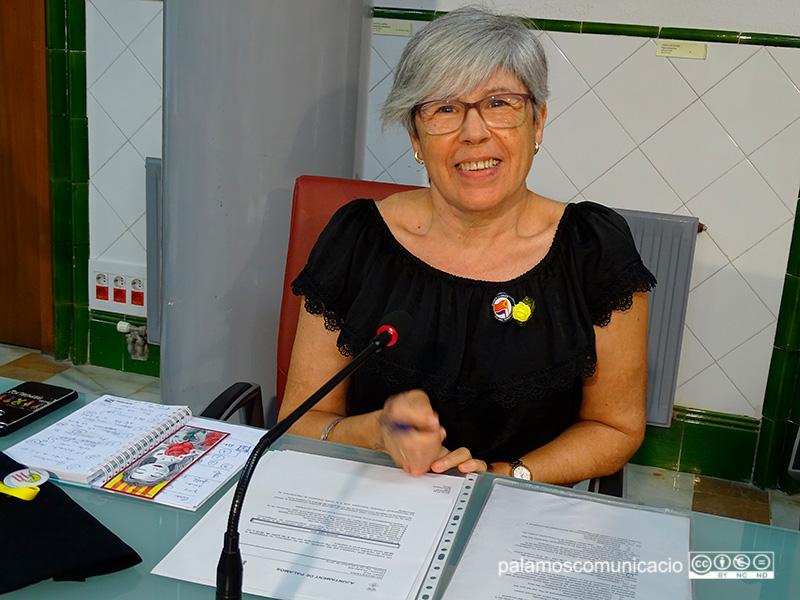 Roser Huete, regidora de la CUP a l'Ajuntament de Palamós.