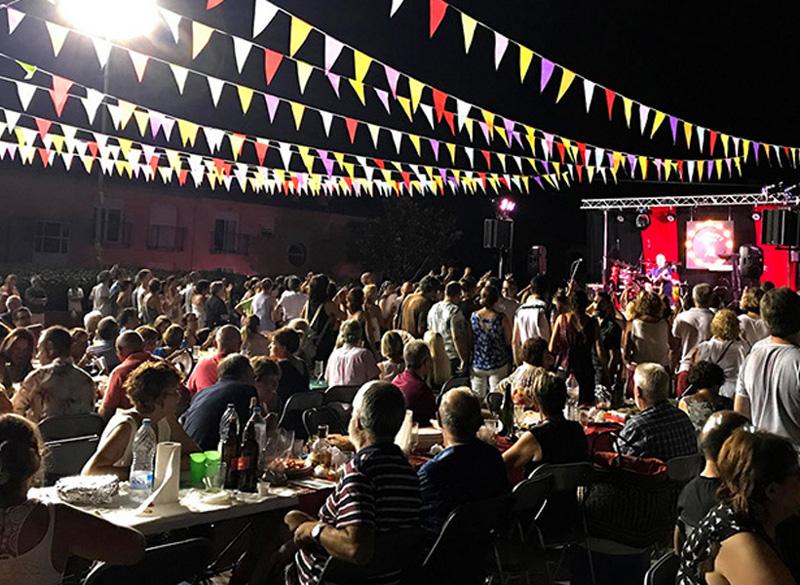 Imatge de la Festa Major de Sant Joan de l'any passat. (Foto: Associació de Veïns de Sant Joan).
