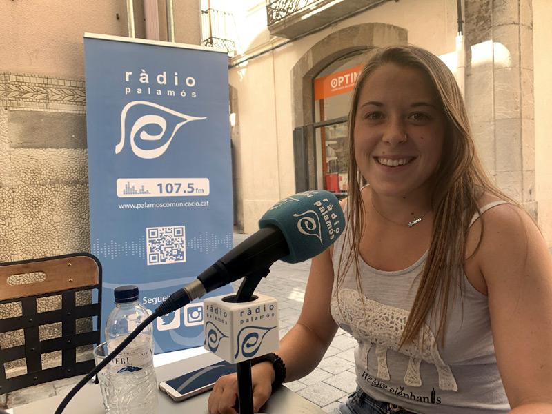 Marina Barneda, ahir durant l'emissió del programa
