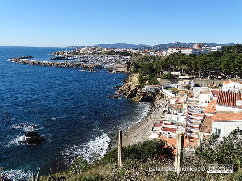 Un aspecte del sector de Sota Ca la Margarida, a la costa de Palamós.