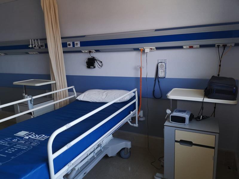 L'hospital de Palamós ha començat a fer aquest any polisomnografies. (Foto: SSIBE).