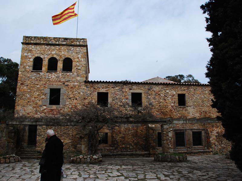El recinte del Collet de Sant Antoni. (Foto: Ajuntament de Calonge i Sant Antoni).