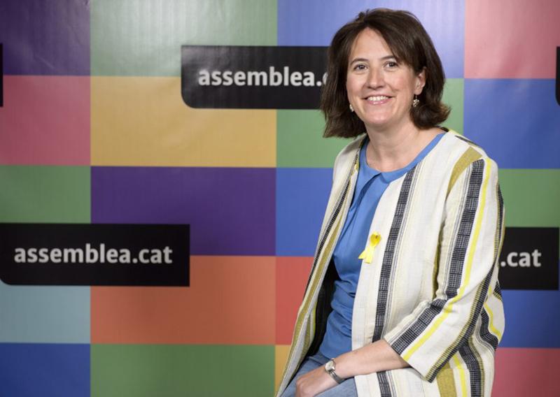 La presidenta de l'ANC, Elisenda Paluzié. (Foto: Assemblea Nacional Catalana).