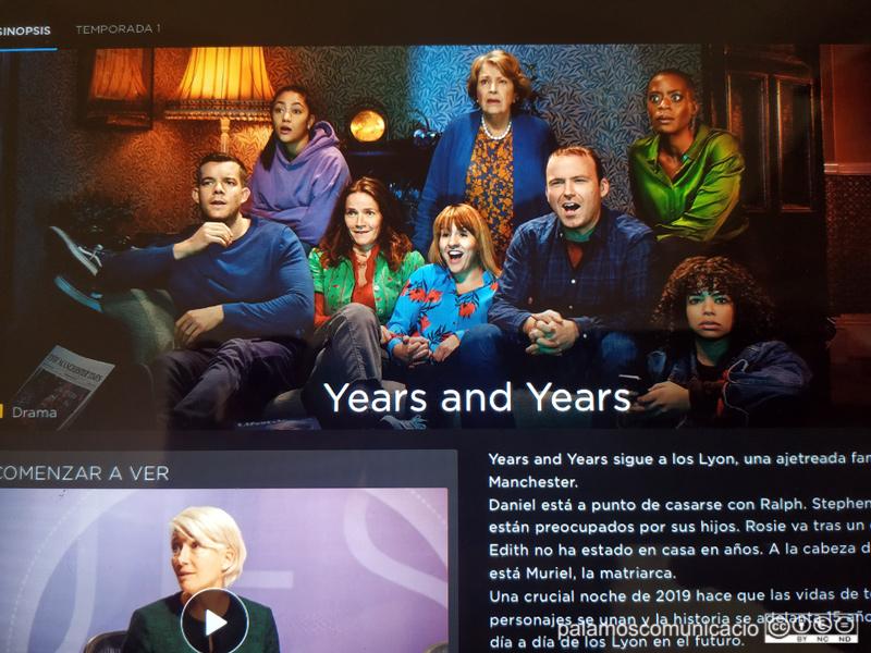 'Years and Years' és una de les sèries més destacades del moment.