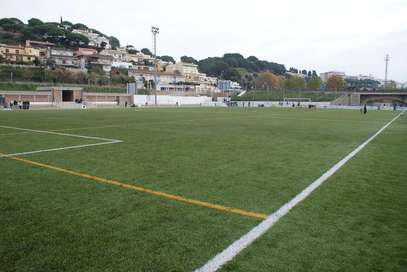 El Palamós CF juga demà al camp del Sot del Bagueny. (Foto: Josep Robles López).