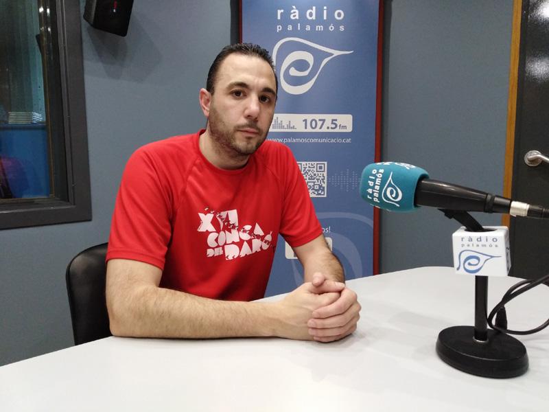 David Cruz, coordinador tècnic del Global Palamós.