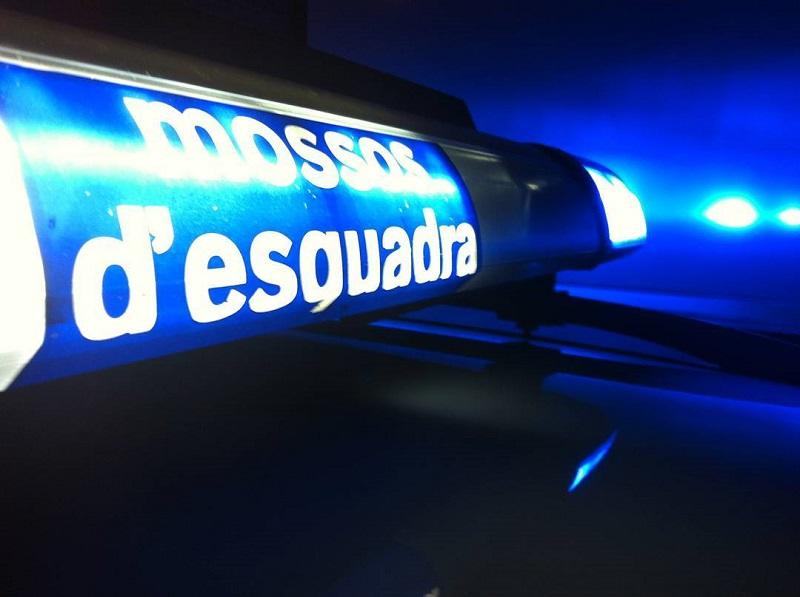 Els Mossos d'Esquadra van fer la detenció aquest dimecres passat.