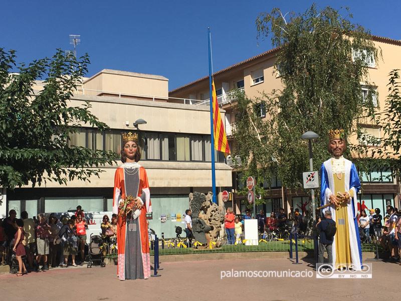 Actes de l'11 de setembre, l'any passat a la Plaça de Catalunya.