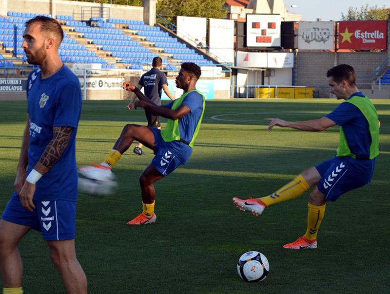 El Palamós debuta a casa després de sumar tres punts en la primera jornada de lliga. (Foto: S. Cortés).