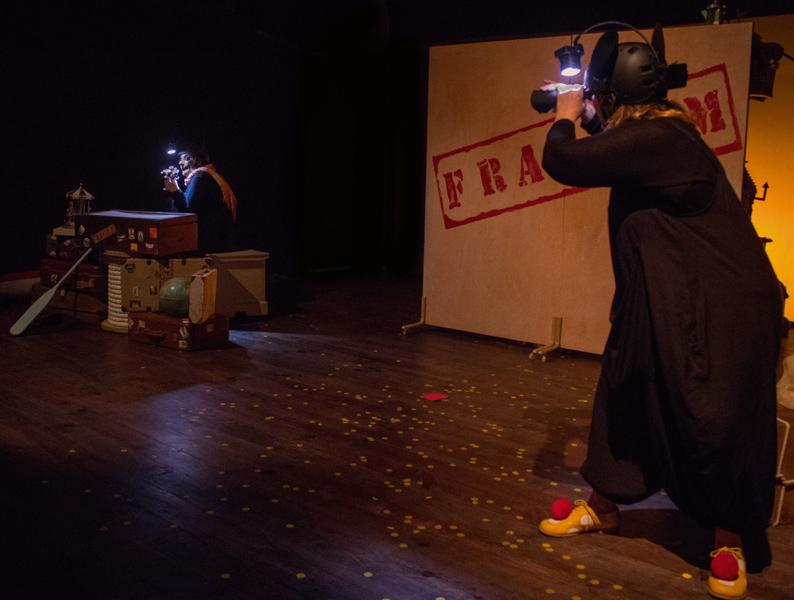 L'Aula de Teatre, a les Galeries Carme, va acollir fa poc menys d'un any les representacions de 'Fràgium'.