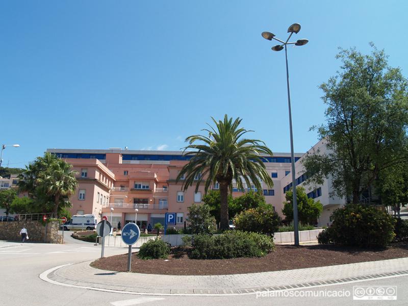 Un aspecte exterior de l'hospital de Palamós.