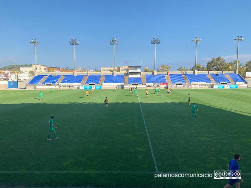 El Palamós CF ha guanyat el quart partit de la temporada davant el Lloret (2-1)