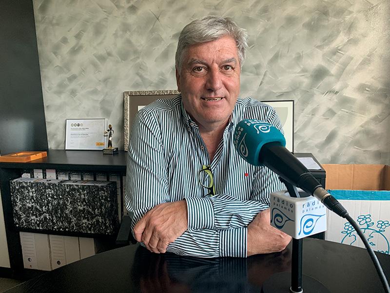 Martí Sabrià, gerent del Grup Costa Brava Centre.