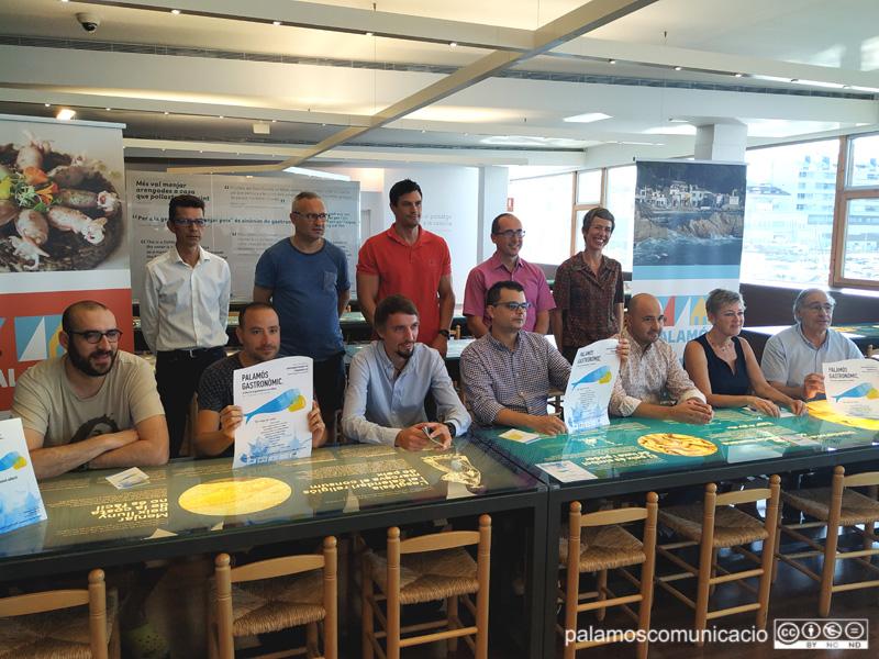 Presentació del 'Palamós Gastronòmic', aquest matí a l'Espai del Peix.