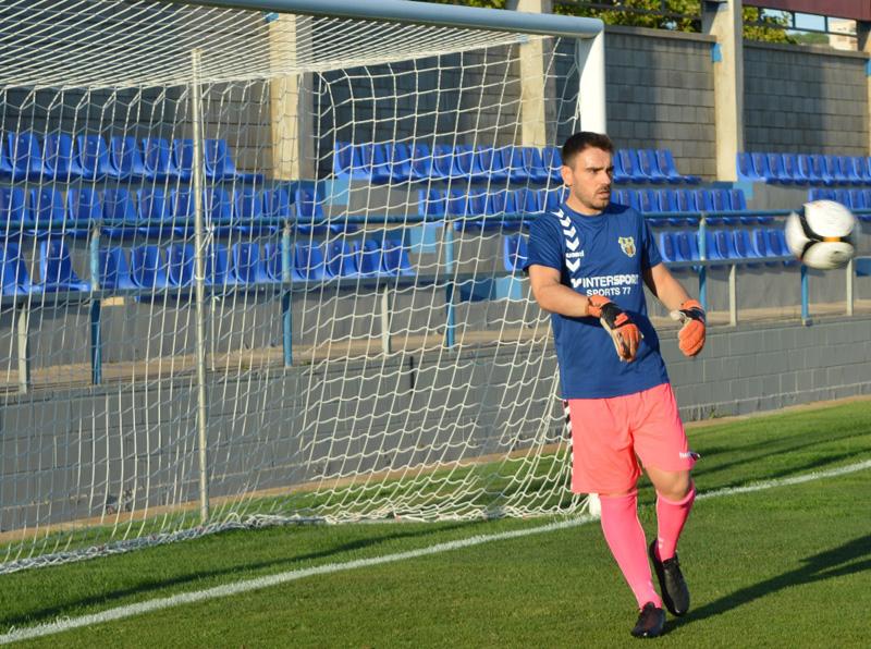 Tuscà ha arribat per competir amb Albert Quintanas sotal els pals del degà. (Foto: S. Cortés).