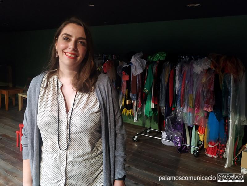 Susanna Fernández és professora de l'Aula de Teatre.