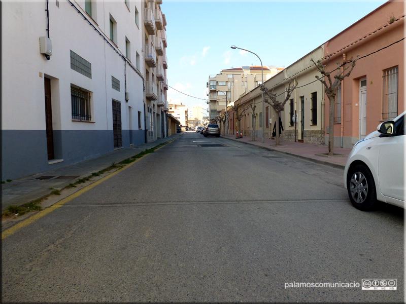 El de la Riera d'Aubi és un dels carrers que es reformaran.