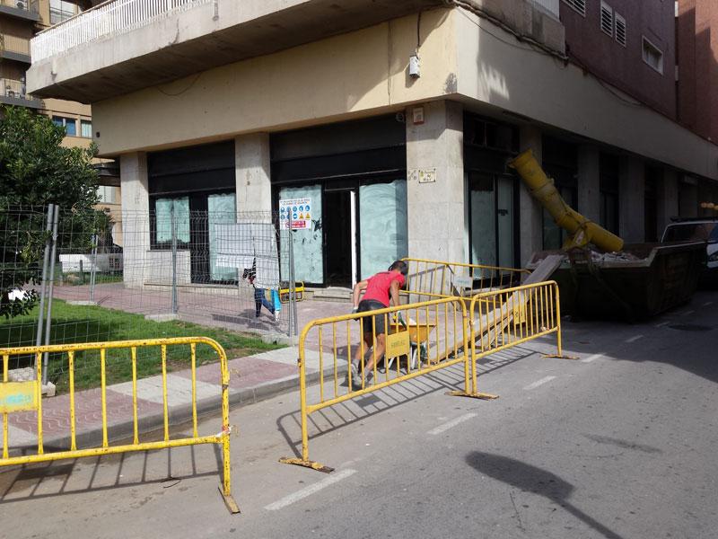 Aspecte exterior del nou local que acollirà l'Oficina Municipal de Turisme. (Foto: Ajuntament de Palamós).
