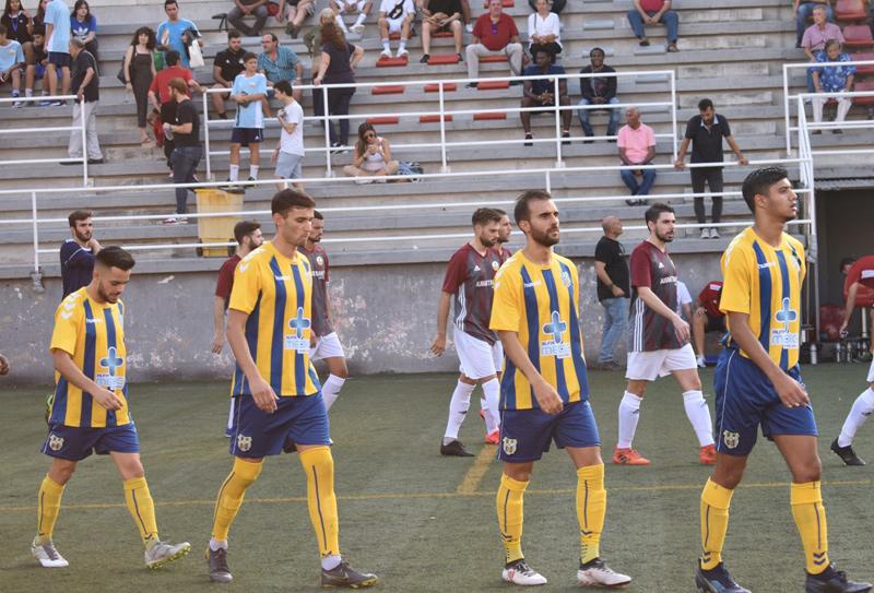 El Palamós CF confia en mantenir la bona ratxa de resultats d'aquest inici de temporada. (Foto: Sergi Cortés).