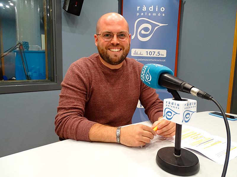 Raimon Trujillo, regidor de Junts per Catalunya, al 'Preguntes'.