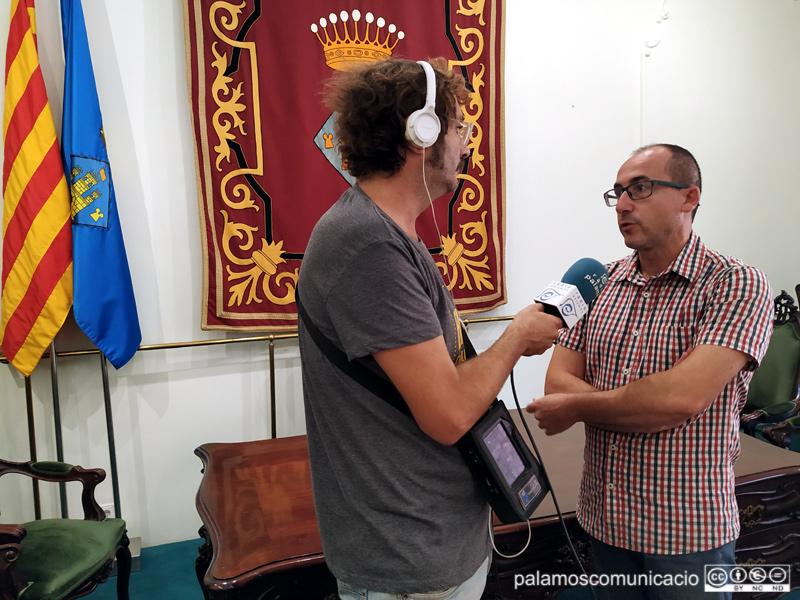 L'alcalde de Palamós, Lluís Puig, ha valorat la sentència en directe per a l'Informatiu des de l'Ajuntament.