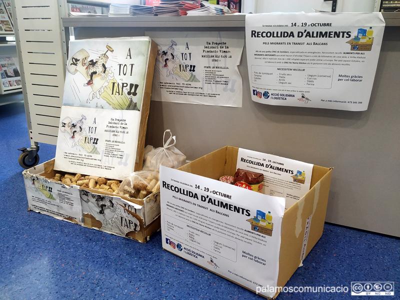 L'ajuda es pot portar a la Biblioteca Municipal, en horari de matí i de tarda.