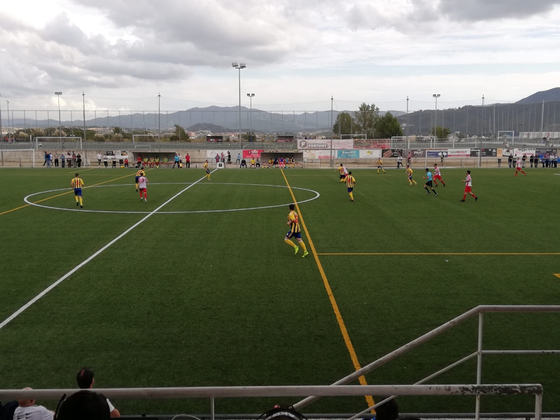 Palamós CF i Mollet s'han repartit els punts disputats en al setena jornada de lliga (2-2).