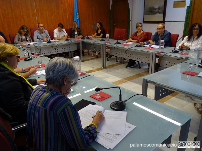L'Ajuntament de Palamós va aprovar la moció contra la sentència del Suprem en un Ple extraordinari la setmana passada.