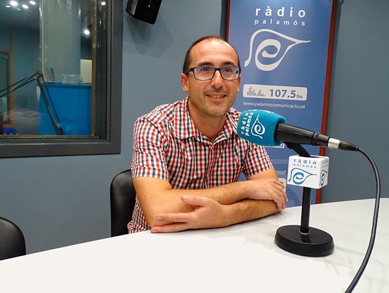 L'alcalde de Palamós, Lluís Puig.