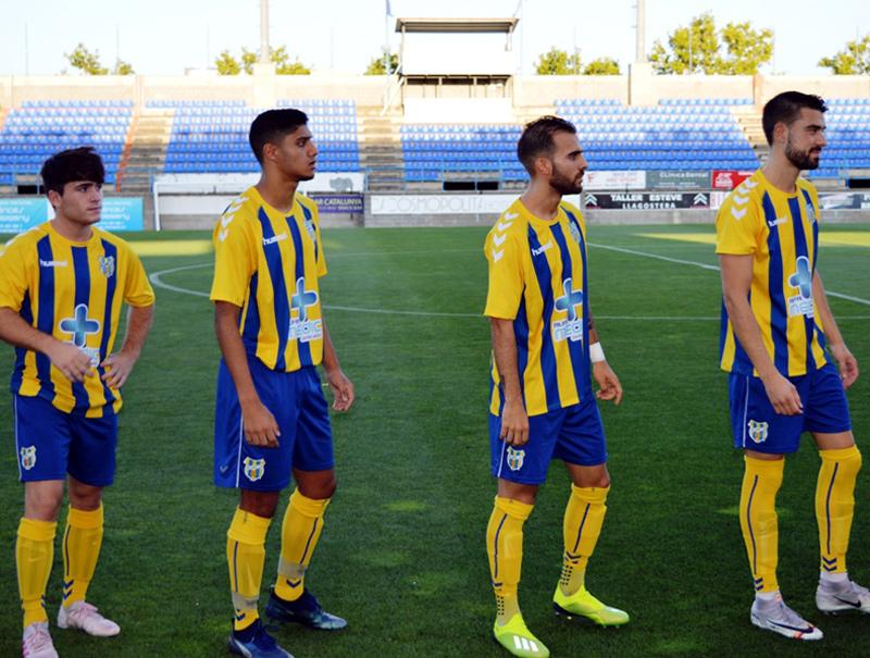 El Palamós CF juga aquest diumenge a casa contra L'Escala. (Foto: S. Cortés fanspalamoscf.com).