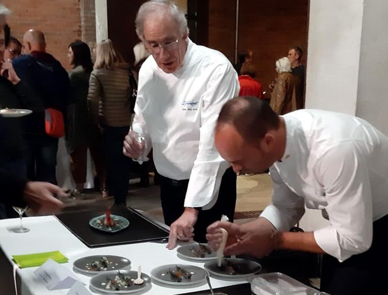 El cuiner palamosí Toni Izquiero, del Mas dels Arcs, restaurant que forma part de la Cuina de l'Empordanet. (Foto: Grup Costa Brava Centre).