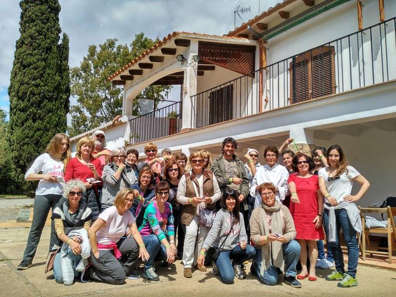 Imatge d'arxiu del taller de melmelades fet l'any passat a Can Pere Tià. (Foto: Àrea de Medi Ambient Ajuntament de Palamós).